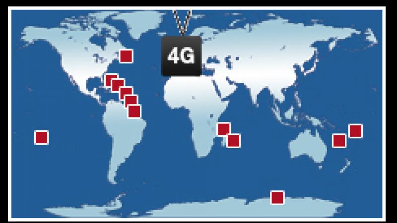 La 4G s'envole vers les départements d'outre-mer (DOM-TOM)