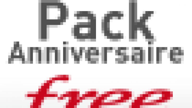 Freebox TV : Le pack Anniversaire Free commercialisé à partir de lundi