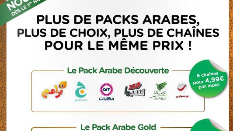 Freebox TV : tous les nouveaux packs en images