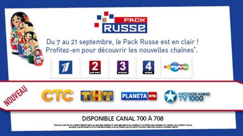 Freebox TV : le pack Russe avec de nouvelles chaînes, offerts en septembre