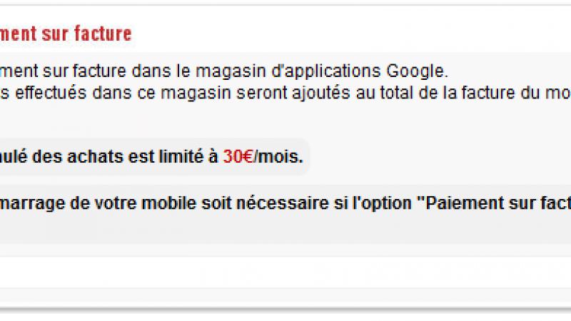 Achats Google Play : Free Mobile lance une nouvelle option dans l'Espace Abonné
