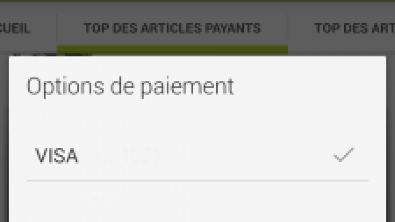Les facturations Google Play par Orange sont un succès