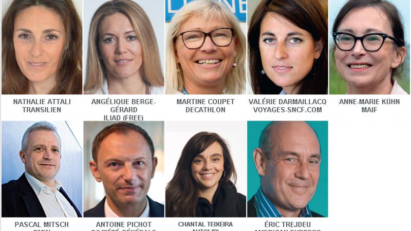 Angélique Gérard, la directrice de la relation abonné de Free, en course pour l'élection du Directeur Client de l'Année 2015