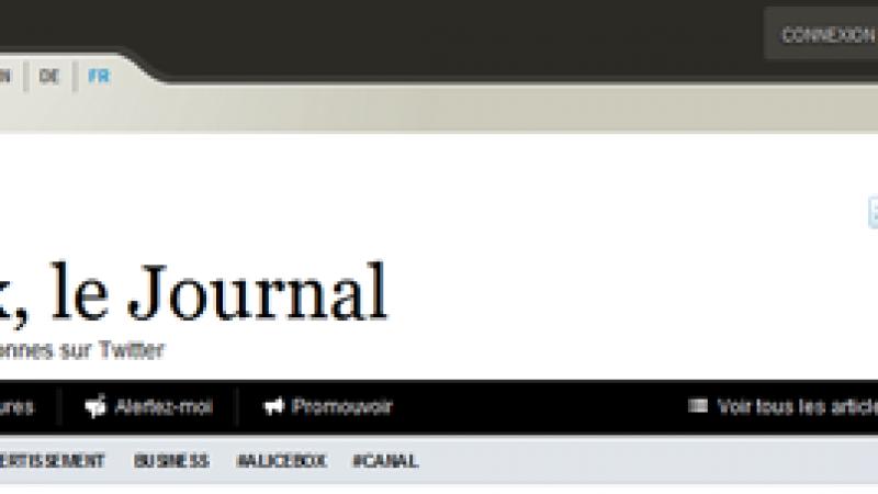 Paper.li vous permet de lire votre compte Twitter comme un journal.