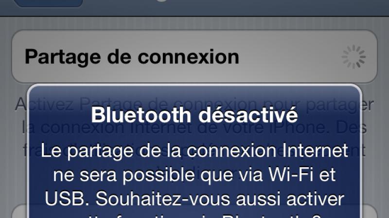 Utilisez votre iPhone comme modem avec Free Mobile