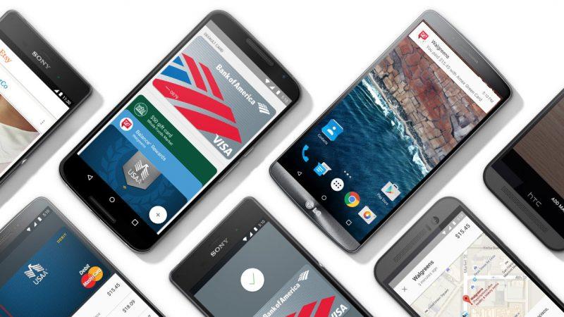 Google commence le déploiement d'Android Pay aux Etats-Unis