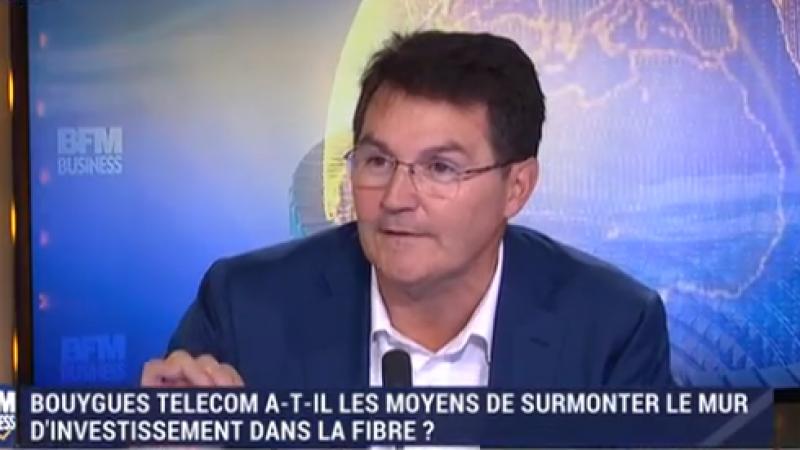 """Bouygues Telecom : """"la régulation dans la fibre a été faite pour nous"""""""