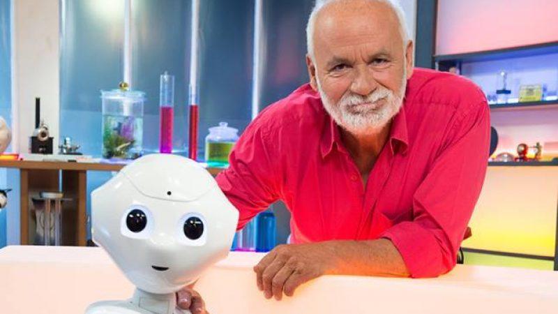 Insolite : Un robot à la co-animation d'une émission