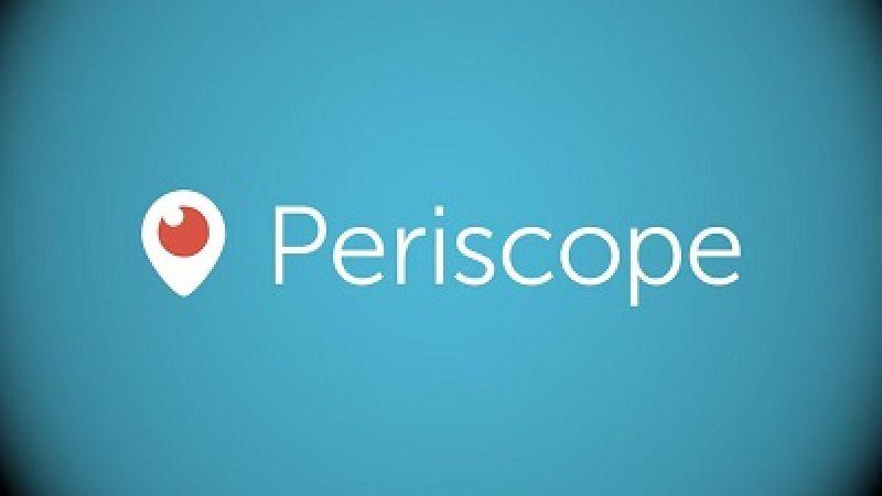 Periscope teste le stockage permanent des vidéos