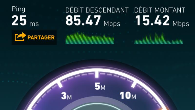 Record 4G Free Mobile à Nancy