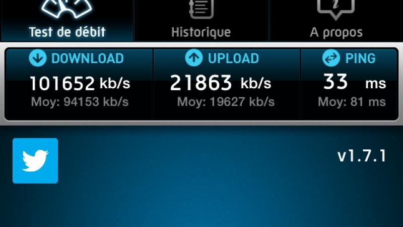 Record 4G Free Mobile Metz battu !