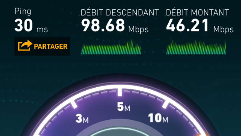 Record 4G Free Mobile à Lille