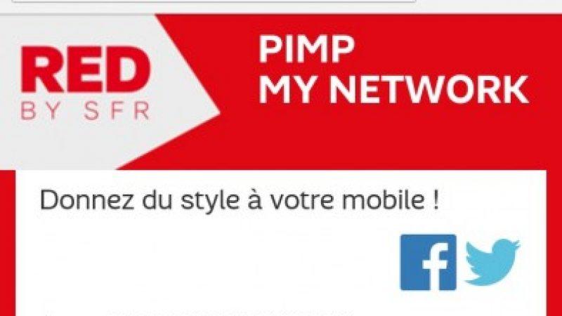 RED by SFR permet de changer le texte opérateur sur son mobile pour 0.99 euros