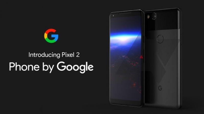 Google a présenté les Pixel 2 et Pixel 2 XL lors de sa conférence : découvrez-les en détail