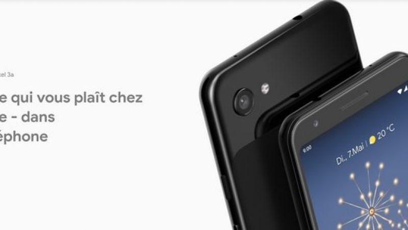 Google nargue l'appareil photo de l'iPhone XS pour promouvoir son Pixel 3a