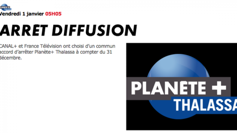 Canalsat continue à perdre des chaînes, avec Planète Thalassa qui va disparaitre