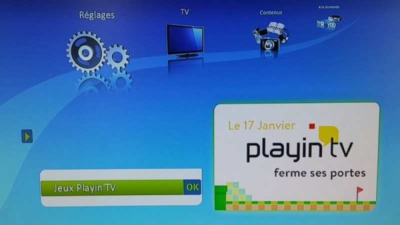 Bouygues Télécom met fin au service de jeux Playin tv sur Bbox