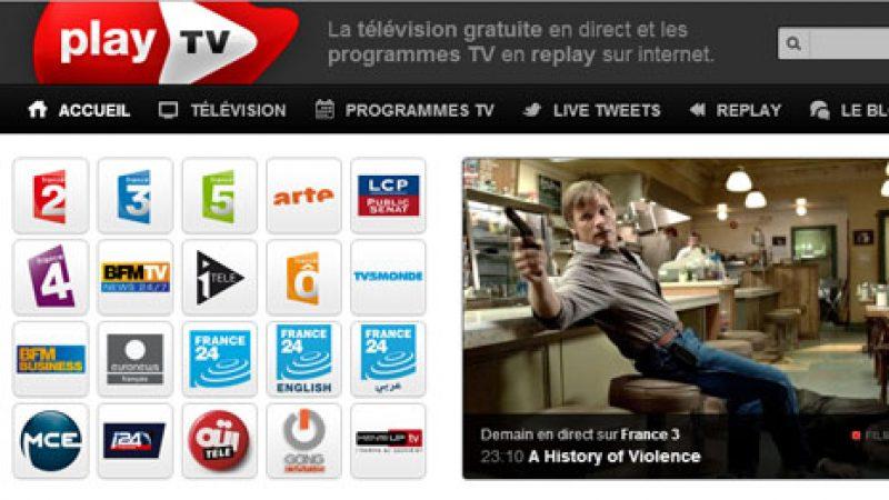 CSA : Play TV doit stopper la diffusion gratuite des chaînes de France TV sur le web