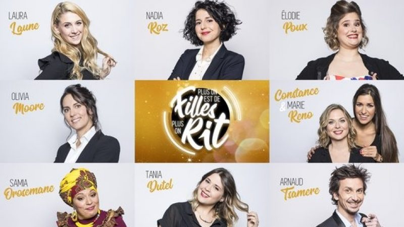 « Plus on est de filles, plus on rit » un one-woman show 100% filles sur Téva