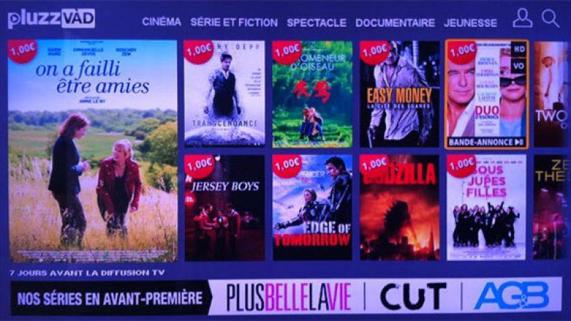 Pluzz VàD lance une nouvelle interface sur Freebox, et des nouveautés VOD à 1€
