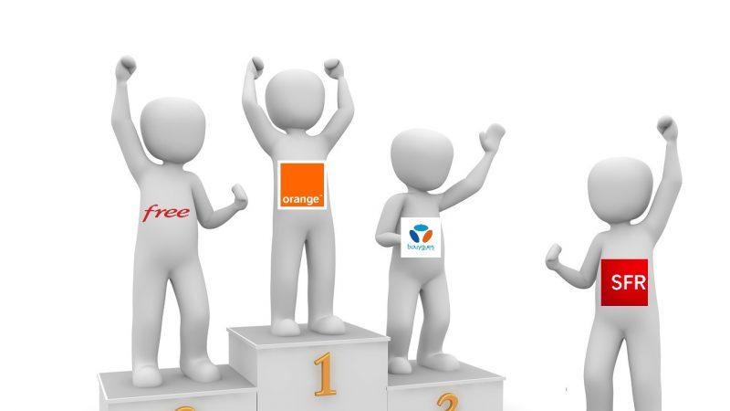 Classement des opérateurs fixes : Orange premier talonné par Free, SFR bon dernier selon l'UFC-Que Choisir