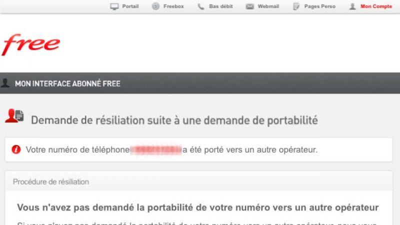 Demande de portabilité de numéro Freebox : Free met en place une procédure de validation