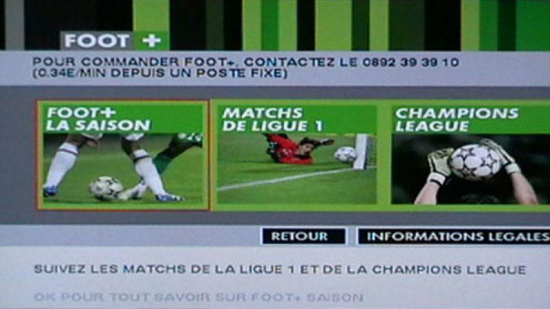 « Portail Sport » disponible sur Canalsat via Freebox
