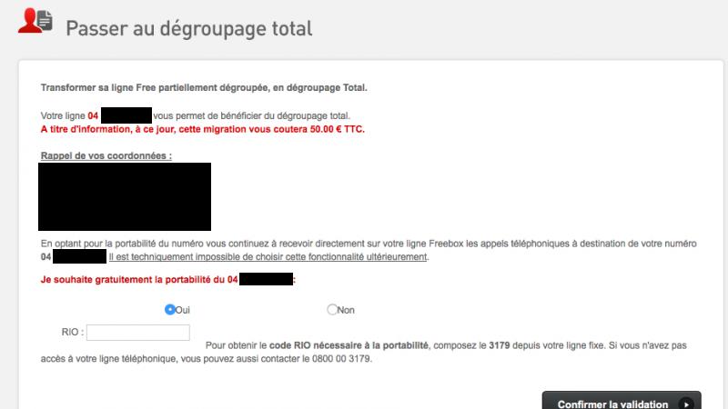 Freebox : le numéro RIO devient obligatoire pour la portabilité lors du passage en dégroupage total