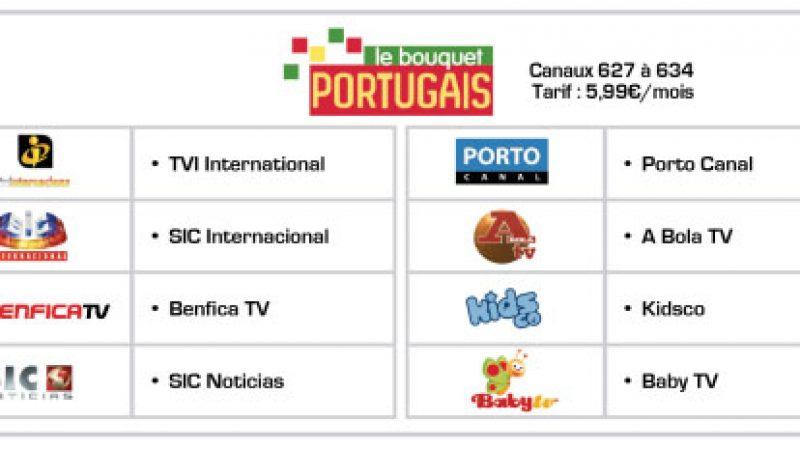 """Free lance le """"bouquet Portugais"""" sur son offre TV"""
