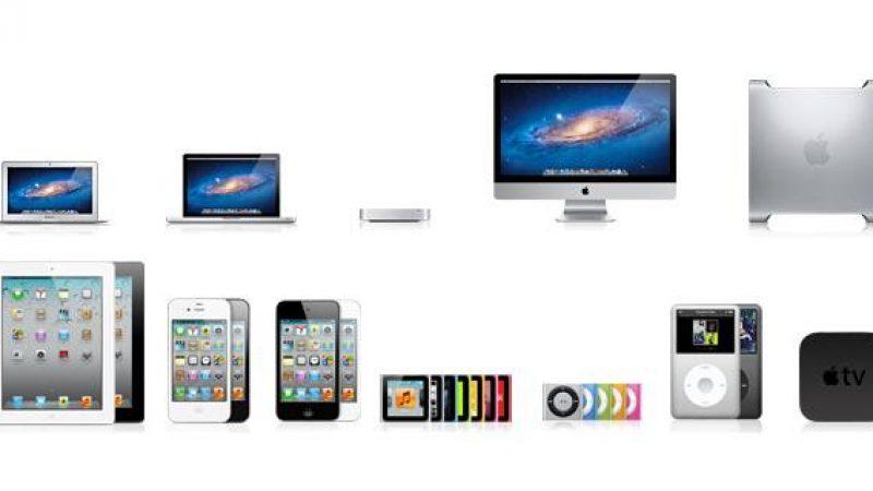 Les revenus d'Apple en baisse pour le troisième trimestre consécutif
