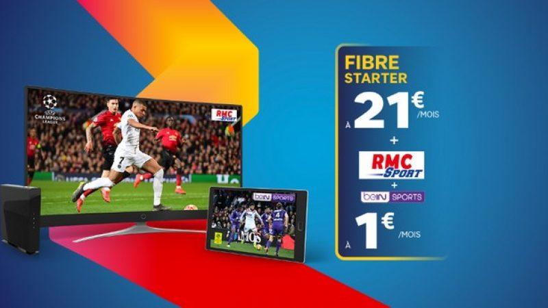 SFR : RMC Sport + BeIN Sports en promotion à seulement 1 euro par mois
