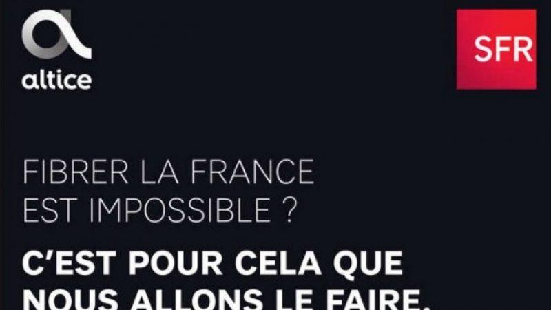 SFR fibrer la France : l'opérateur lance une campagne de publicité, mais ne précise toujours pas les modalités et le financement
