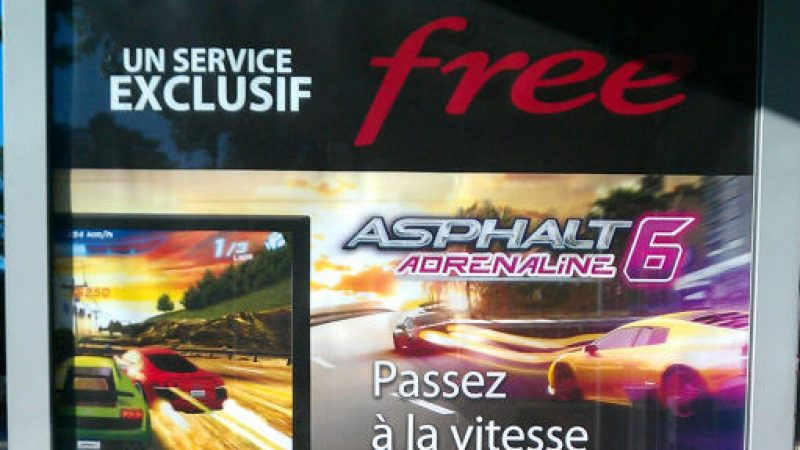 Freebox Révolution : Lancement d'Asphalt 6  Adrénaline en aout