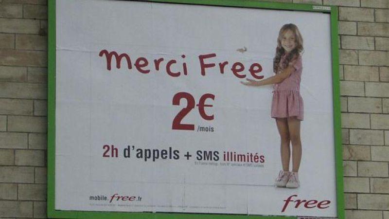 Les Robins des Toits veulent faire interdire une publicité Free Mobile