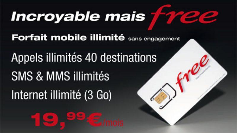 Découvrez les affiches publicitaires du forfait illimité Free Mobile