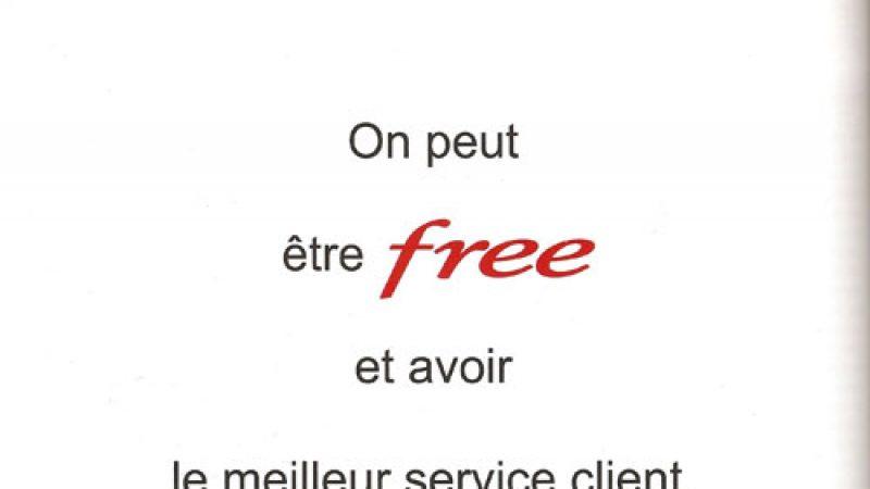 Meilleur service client de l'année : Free s'affiche dans les magazines