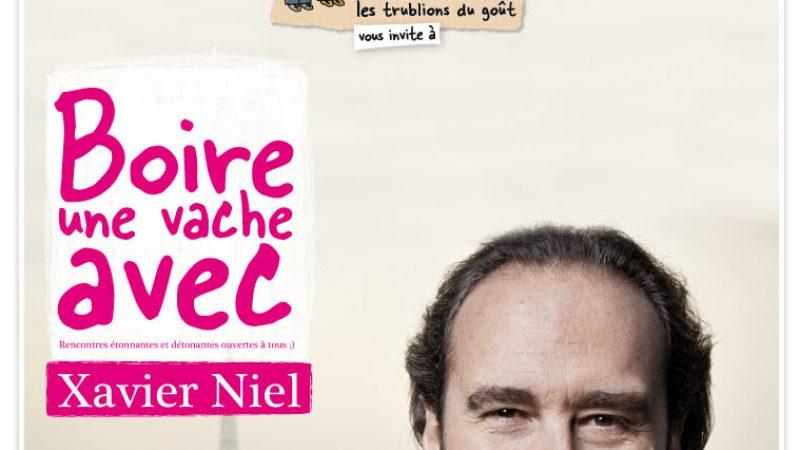 Michel et Augustin vous proposent de rencontrer Xavier Niel et boire une vache avec lui
