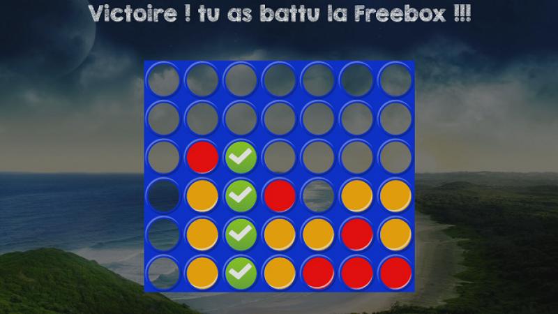 Puissance 4 débarque sur la Freebox Révolution