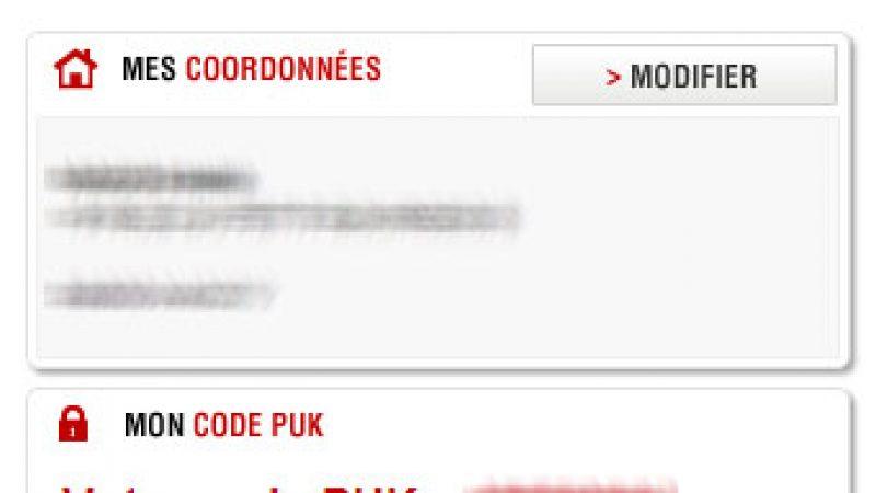 Free Mobile rend enfin disponible le code PUK dans l'espace abonné