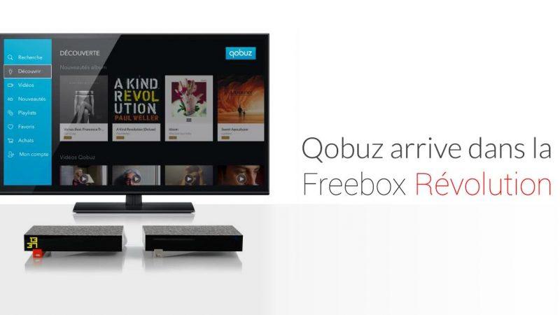 Démonstration de la nouvelle application Qobuz pour la Freebox Révolution à la ministre de la Culture