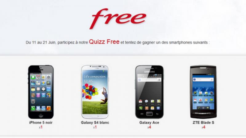 Pensez-vous être incollable sur Free et son univers ? 10 smartphones à gagner.