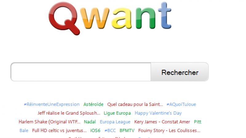 Une start-up française pour concurrencer Google.