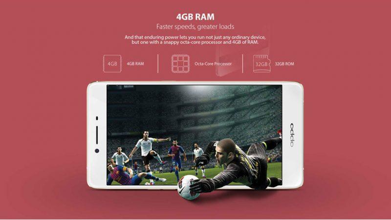 Oppo R7S, un milieu de gamme avec 4Go de RAM