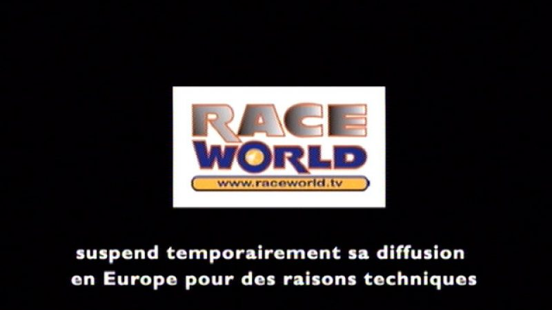 Raceworld TV suspendu temporairement