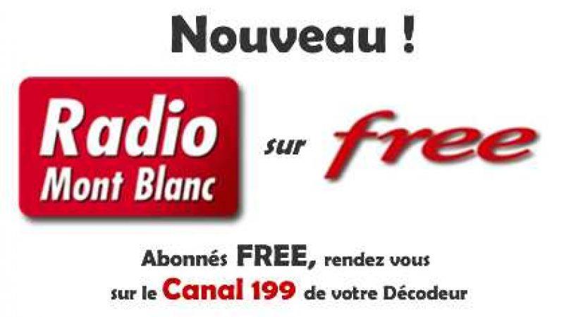 Nouvelle radio sur Freebox TV : Radio Mont Blanc
