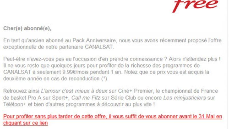 Freebox : L'offre au nouveau pack anniversaire prolongée jusqu'au 31 mai