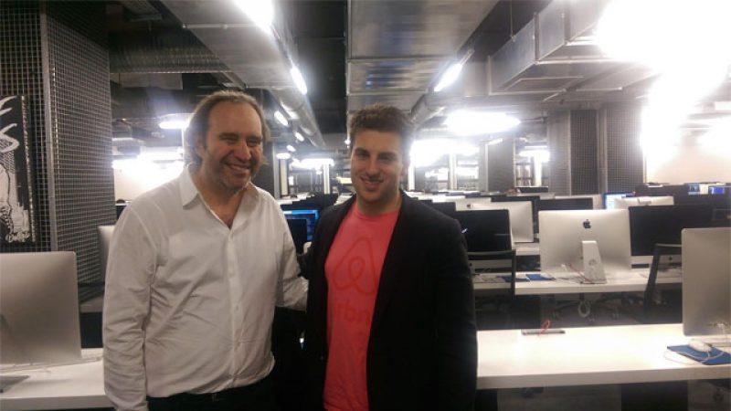 Un nouveau patron star du web en visite à 42 avec Xavier Niel