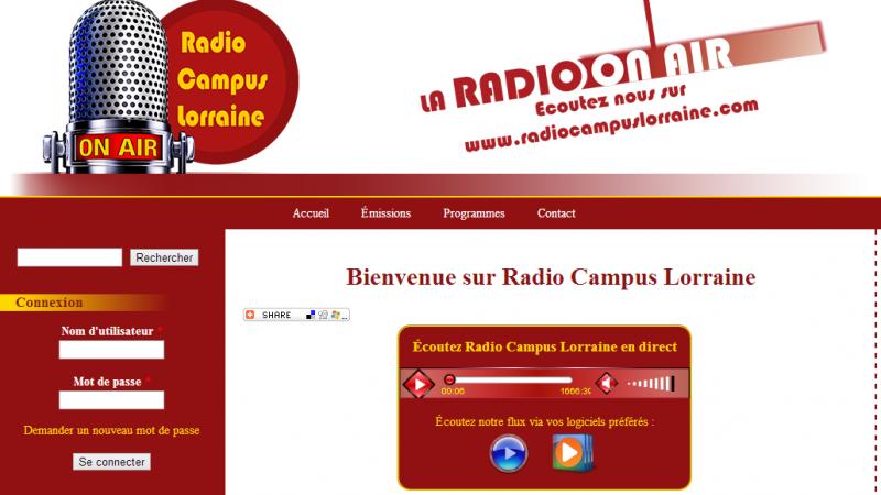 Radio Campus Lorraine : nouvelle webradio à destination des étudiants