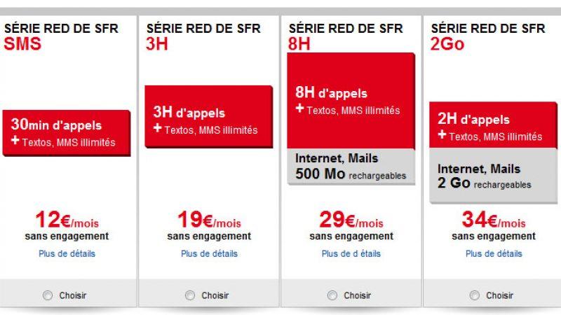 SFR présente ses nouvelles offres low cost avec Red