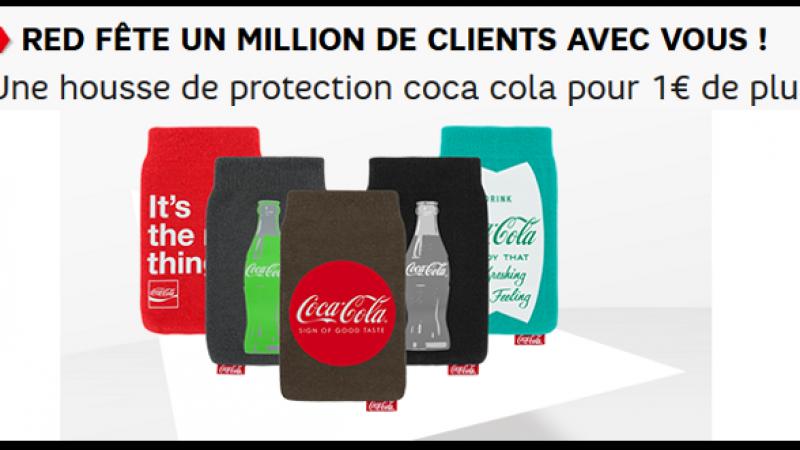 SFR : RED fête un million de clients avec une housse pour 1€ de plus